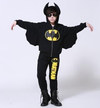 Костюм Бэтмен с мехом