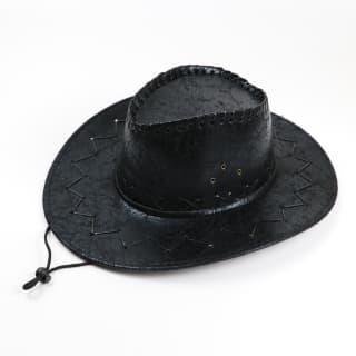 """Шляпа ковбойская """"Кожаная"""""""