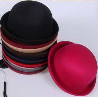 Шляпа котелок классический разных цветов