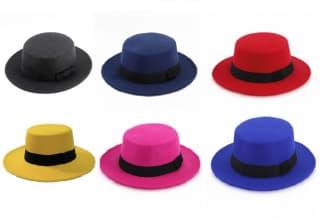 """Шляпа """"Ретро"""" канотье"""