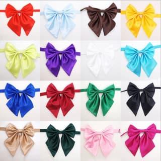 Галстук-бабочка с бантиком для девочек