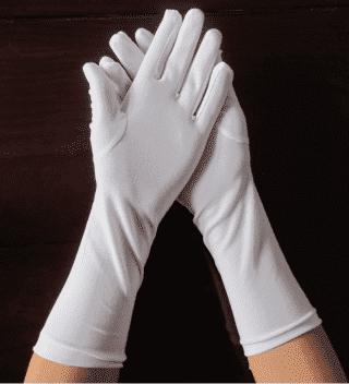 Перчатки детские удлиненные для танцев