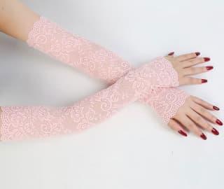 Рукава ажурные гипюровые