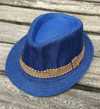 """Шляпа """"Морская"""" детская с полосой"""