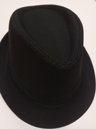 Шляпа классическая черная
