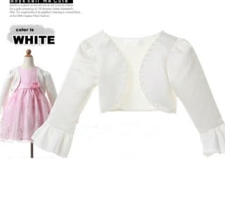 болеро и накидки белое болеро для нарядного платья