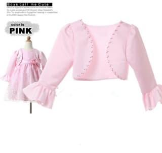 болеро и накидки розовое болеро для нарядного платья