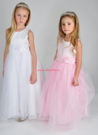 """нарядные платья нарядное платье нежно-розовое """"луиза"""""""