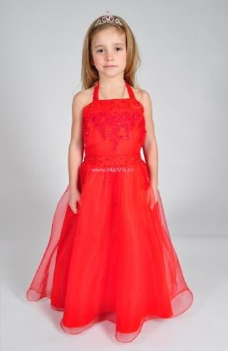 """нарядные платья платье нарядное красное """"элеонора"""""""