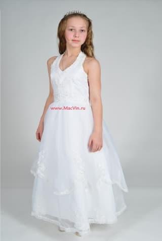 """нарядные платья нарядное белое платье """"антуанетта"""""""