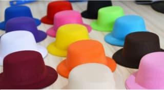 Шляпка-заколка основа для творчества