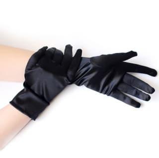 Перчатки взрослые: белые, черные, красные