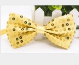 Галстук-бабочка блестящая разных цветов