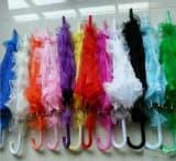 Зонтик кружевной театральный разных цветов