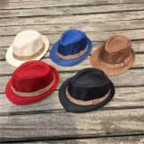 Шляпа текстурная детская с полосой