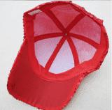 Кепка эстрадная с пайетками красная