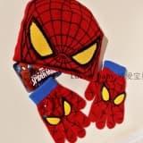 "Комплект шапка и перчатки ""Человек-паук"""