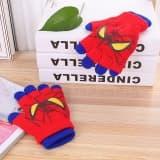 Перчатки Человек-паук синие