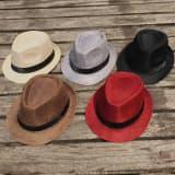 Шляпа текстурная разных цветов