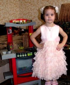 Платье нарядное с оборками