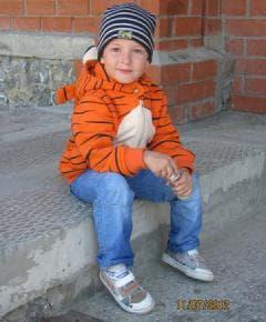 Толстовка Ушастик - тигруля